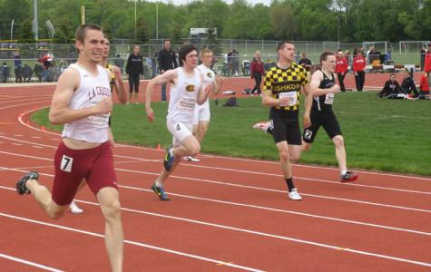 Track teams battle at elite WIAC meet