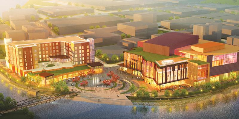 A future across the river?