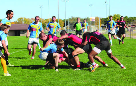 Club rugby team comes up short