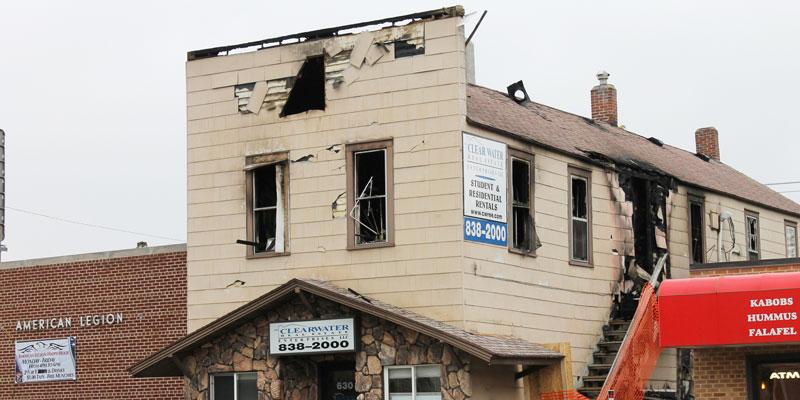 Two dead after Water Street fire
