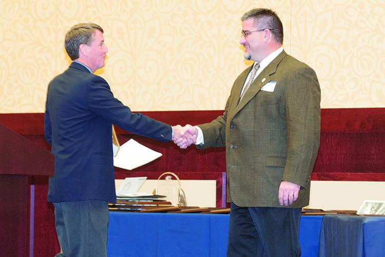 Conlin receives Merten Award