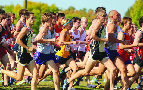 Men and women cross country finishes in top three