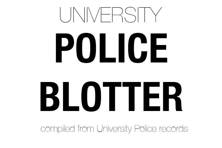 Police Blotter: 11/8/12