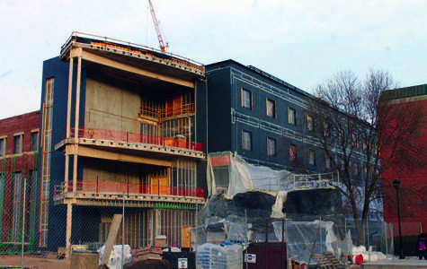 Education building on schedule