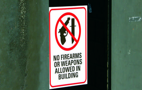 Gun control policy on campus