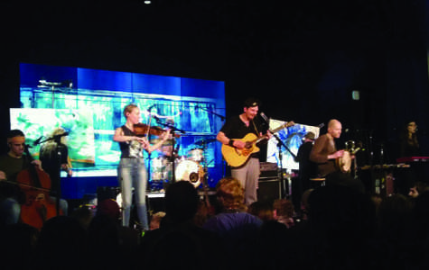 Cloud Cult performs for Earth Week