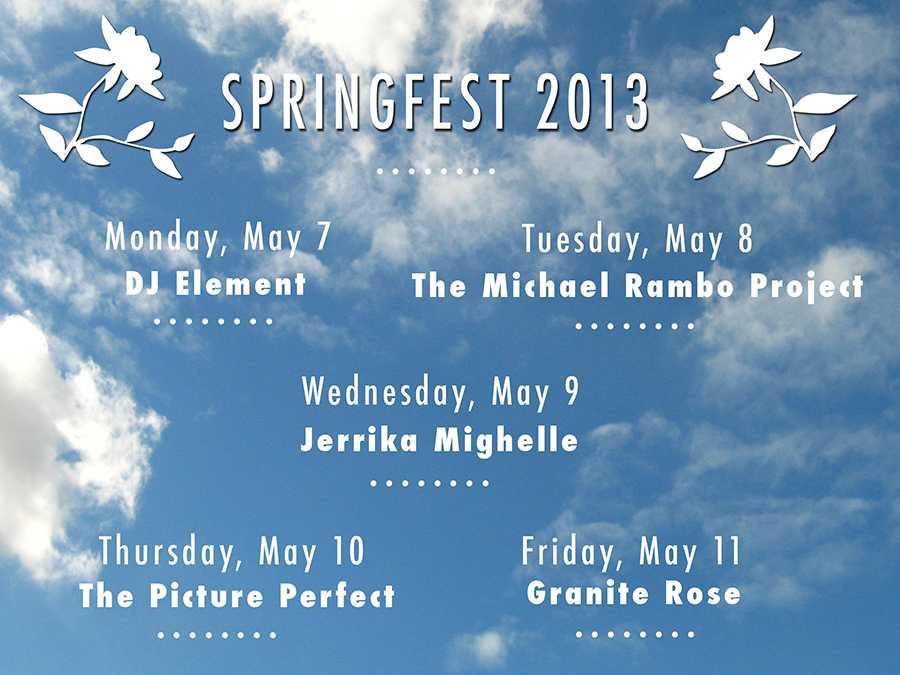 Springfest+kicks+off+next+week