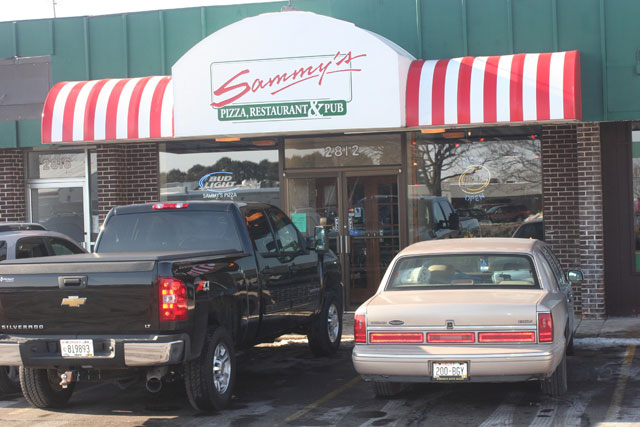 PUT IT ON THE PIZZA: Sammy's Pizza on London Road is one of several locations. General Manager of the Eau Claire location Adam Skillen said each one is individually owned and personal. Submitted