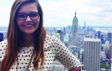 Kristina Bornholtz, News Editor of The Spectator, in New York City where she spent her summer as an intern.