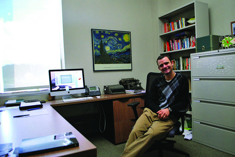 UW-Eau Claire professor BJ Hollars released his latest book earlier this month.