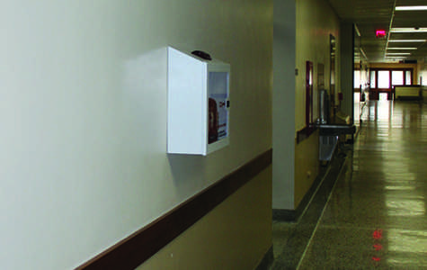 Nine new AEDs to be installed around UW-Eau Claire
