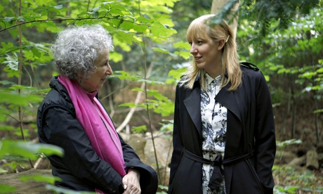 Author Margaret Atwood with Katie Paterson, a Scottish artist who is spearheading the Future Library project. Atwood will be the first to contribute a text to the literary time capsule.