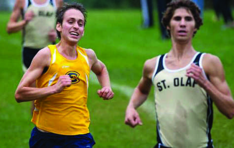 Men's cross country places seventh at nationals