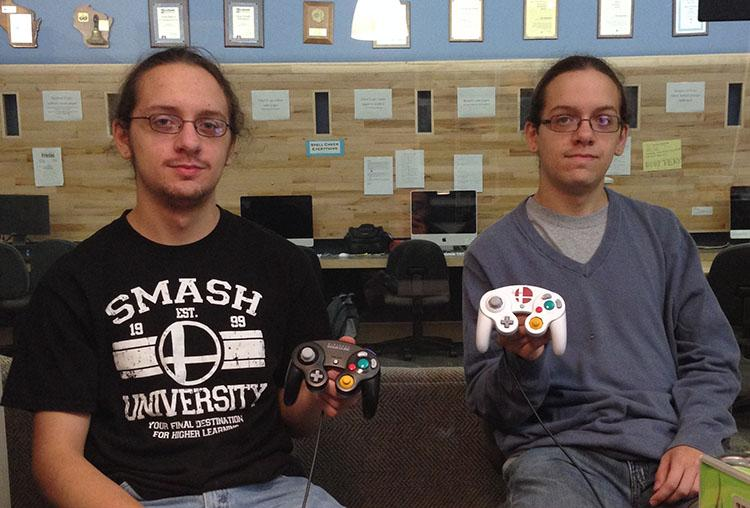 Adam+and+Alex+Ray+took+their+gaming+passion+to+a+new+level+by+starting+the+Super+Smash+Bros.+Club+at+UW-Eau+Claire.
