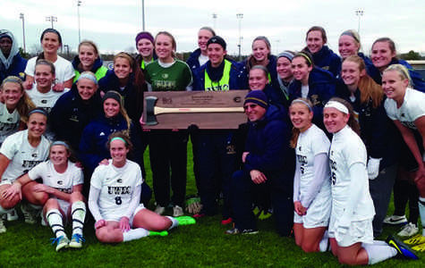 Women's soccer axes Stout