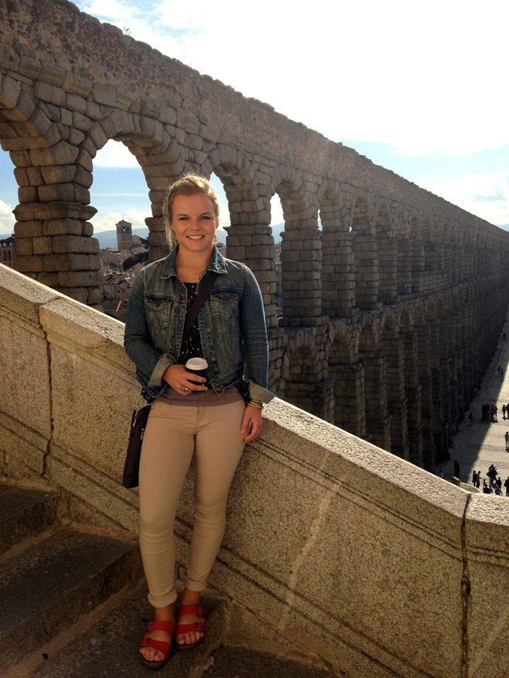 Emily Torbenson is currently studying in Valladolid, Spain.