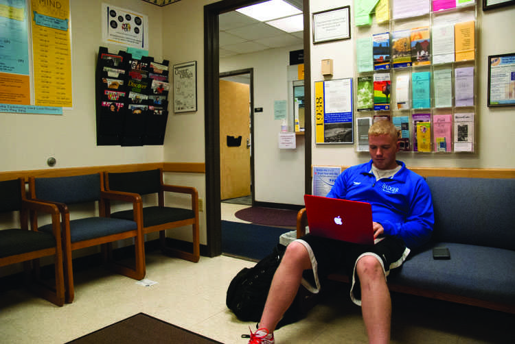 Last fall freshman Ryan Battist went to Student Health Service for a physical and to see if he has asthma - a condition he said he thinks came from living in the dorms.  Students will pay more for campus-sponsored health insurance again this year.