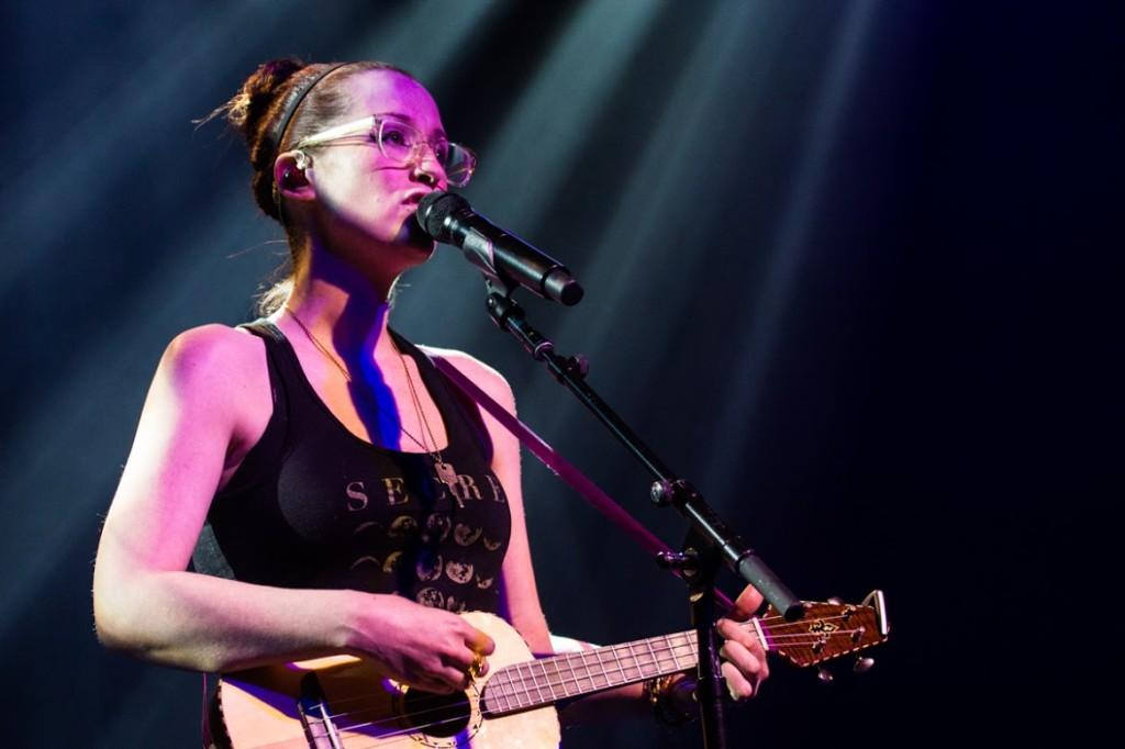 Ingrid Michaelson performed Monday night in Zorn Arena.