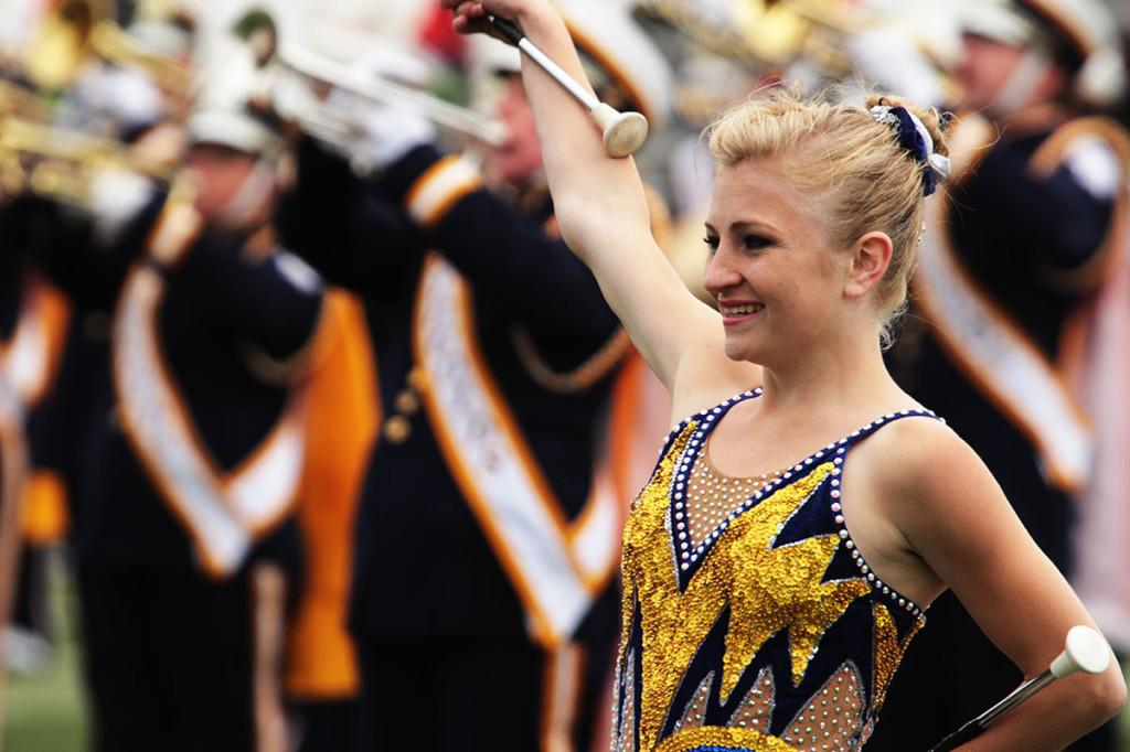 Freshman criminal justice major Briar Swann was recently featured on The Real Winning Edge, a nationwide television series for accomplishing her goals in baton twirling and overcoming adversity.