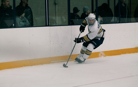 CHAMPIONSHIP OR BUST: The Blugold men's hockey team filled its roster with freshmen but have a group of upperclassmen ready to lead them. - Submitted