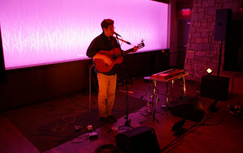 John Sunde performs Saturday night at The Cabin.