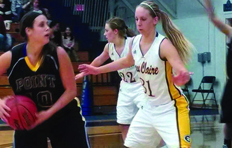 Teenie Lichtfuss scored 16 points Wednesday night to lead the Blugolds to a 64-59 win. - File photo by Nick Erickson