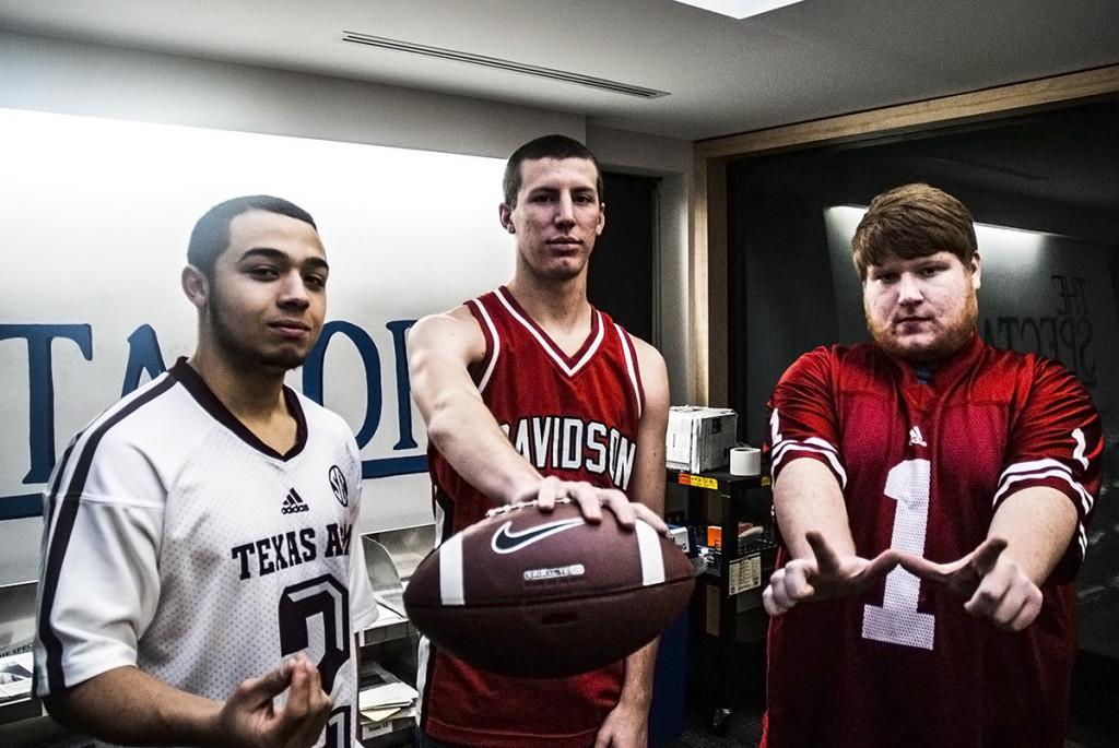 Ellis Williams, Nick Erickson and Austin Mai.