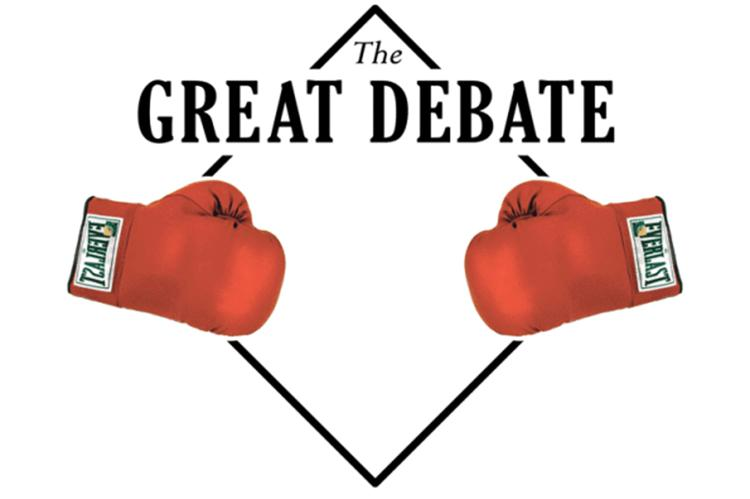 man vs pc the great debate Can you imagine when presidential debates were only on the radio or in person that's how it was before the first tv debates between kennedy and nixon.