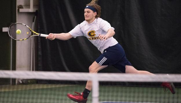 Junior Kyle Hoffman and doubles partner Andrew Dahl won four games last weekend.