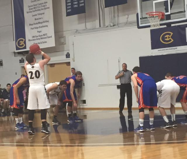 21 points from Jack Martinek help left Blugolds past UW-Platteville