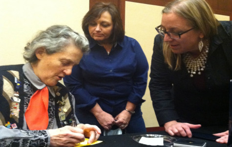 Temple Grandin held a book signing in the Davies Center after her forum. A collection of Grandin's books were also available for purchase.