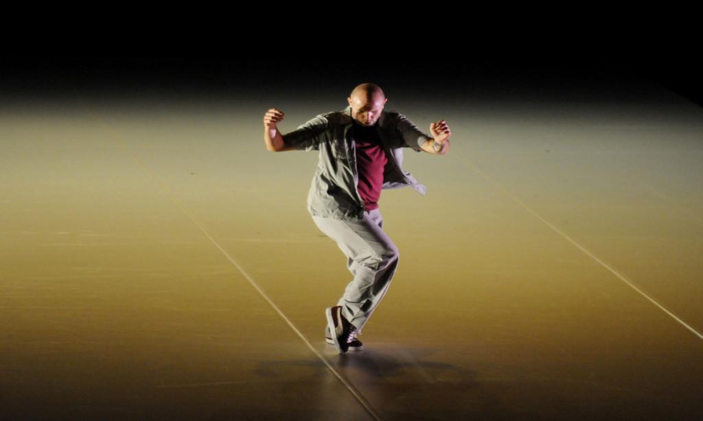 Professional dancer visits UW-Eau Claire
