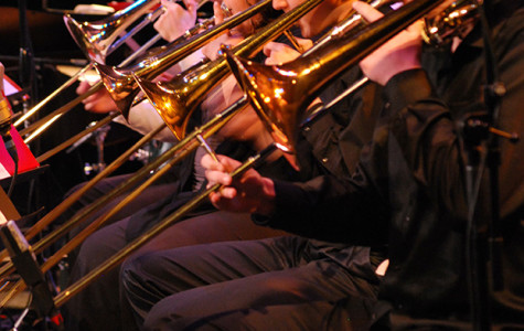 Participants in last year's Jazz Festival perform for a crowd.
