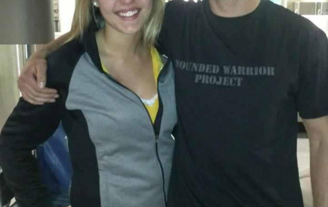 Brianna Shoulak and her late brother, Chad Shoulak, reunite in 2013 at the Austin Straubel airport in Green Bay, Wisconsin. Chad had just returned from South Korea.