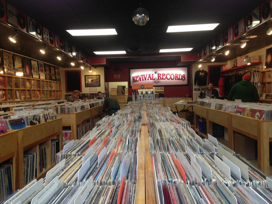 Local record store, Revival Records, located at 128 S. Barstow St. participated in Record Store day on April 18.