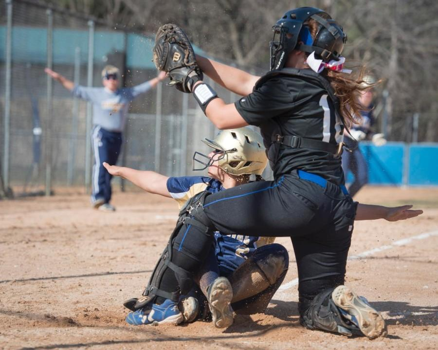 Softball+falls+to+conference+competition