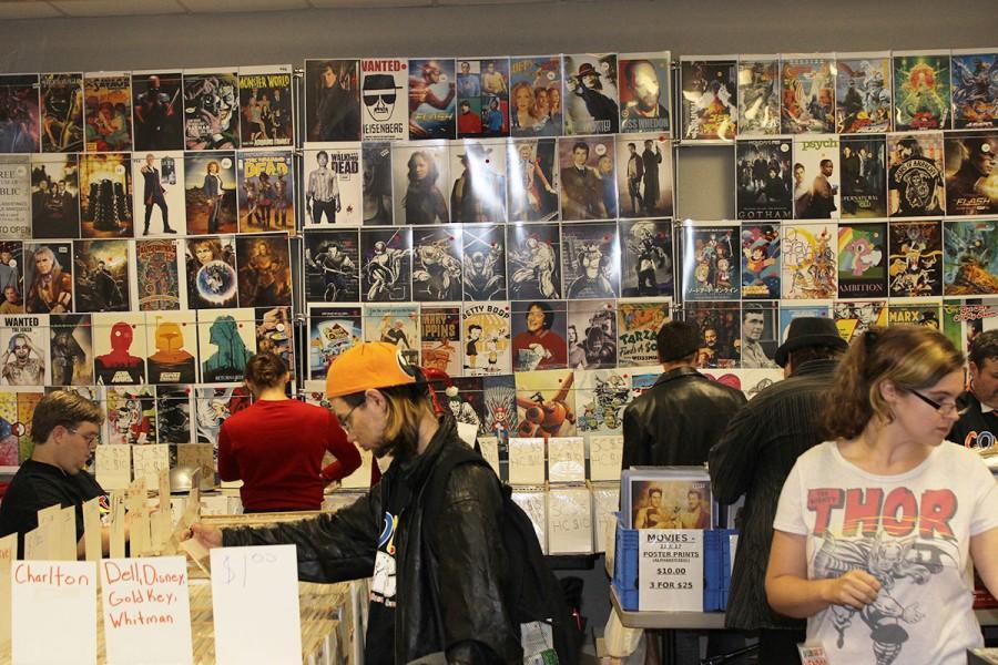 The 5th annual Eau Claire Comic Con brought illustrators, sculptors, collectors and fans to Metropolis resort last Saturday.