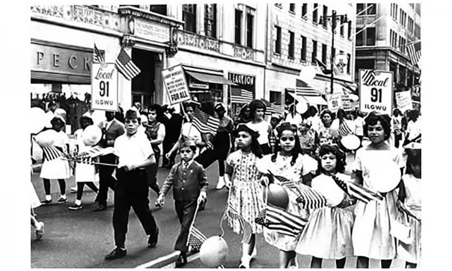 A New York City Labor Day parade in the 1960s. The parade tradition still continues today in large and small cities across the country.