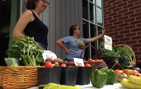 New weekly campus market offers locally-sourced wares