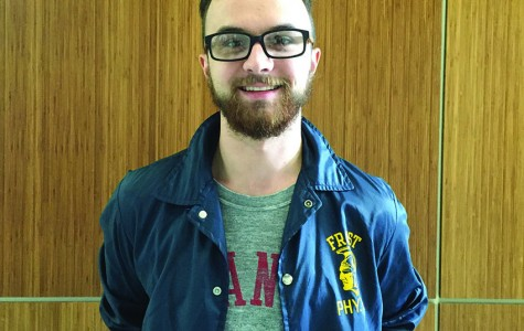 Ian Wetzel, senior environmental public health major