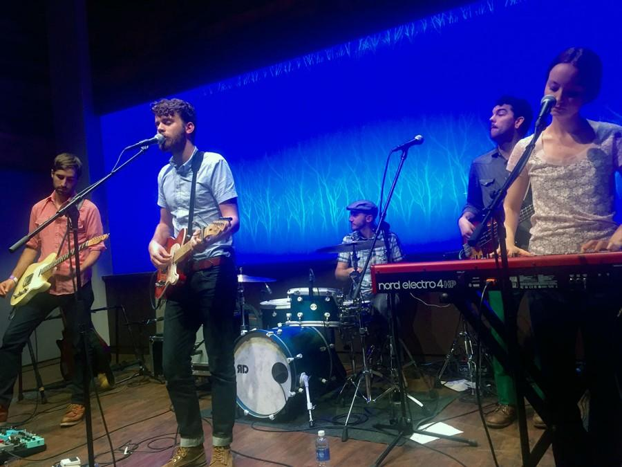 """John Mark Nelson and band stop in Eau Claire while touring fourth album """"I'm Not Afraid."""""""