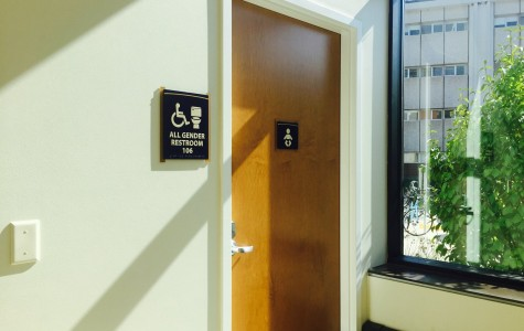 All gender restrooms and living on campus