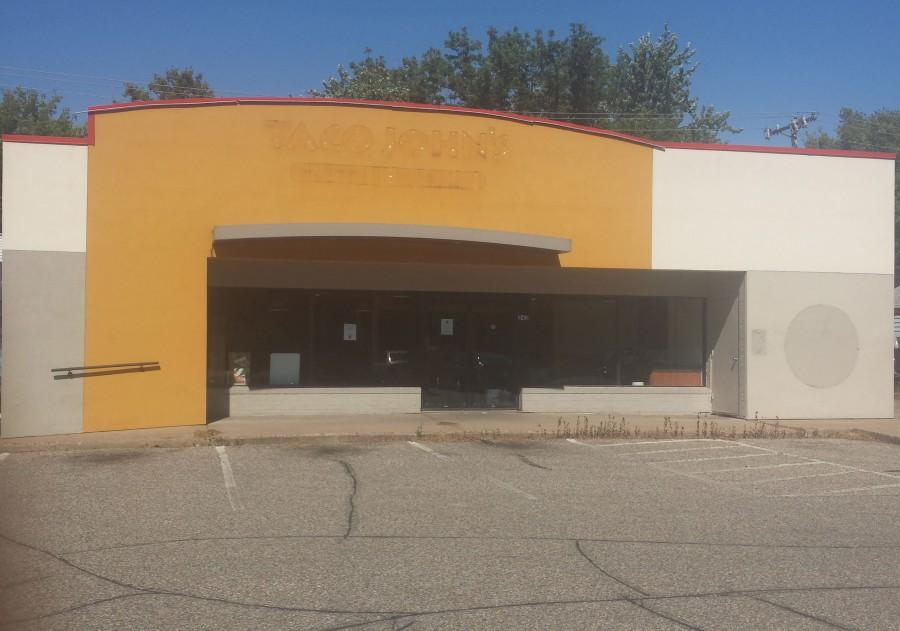 The building formely known as Taco Johns on the 200 block of Water Street, will soon be turned into student housing.