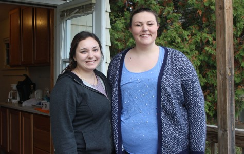 Elora Larson and Marissa Smith were kind enough to allow staff writer Sam Martinez to rent out the vacant room upstairs.