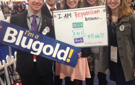 Erin O'Brien attended the Conservative Political Action Conference in Washington, D.C. last February with Jonathan Wieser, Andrew Fleming, Amy Jewell and Becca Jewell.