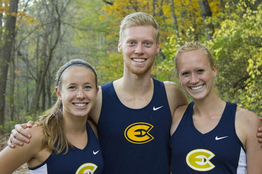 Cross country runners Kelsey Jaeger, Matt Cooper and Lucy Ramquist all have learned throughout their years to be cautious with injury instead of pushing through pain.