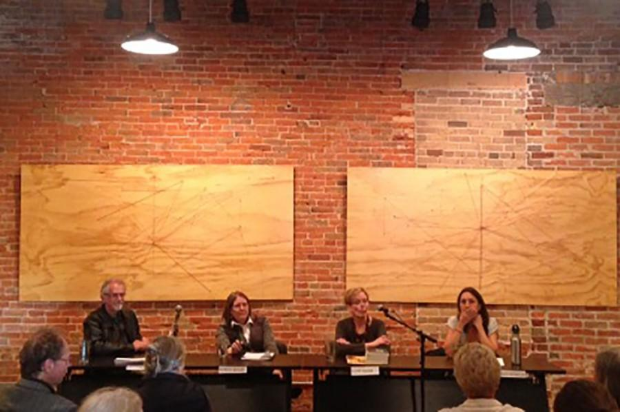 Four authors shared stories and answered audience questions about their personal writing and publishing experiences on Oct. 18 at Volume One.