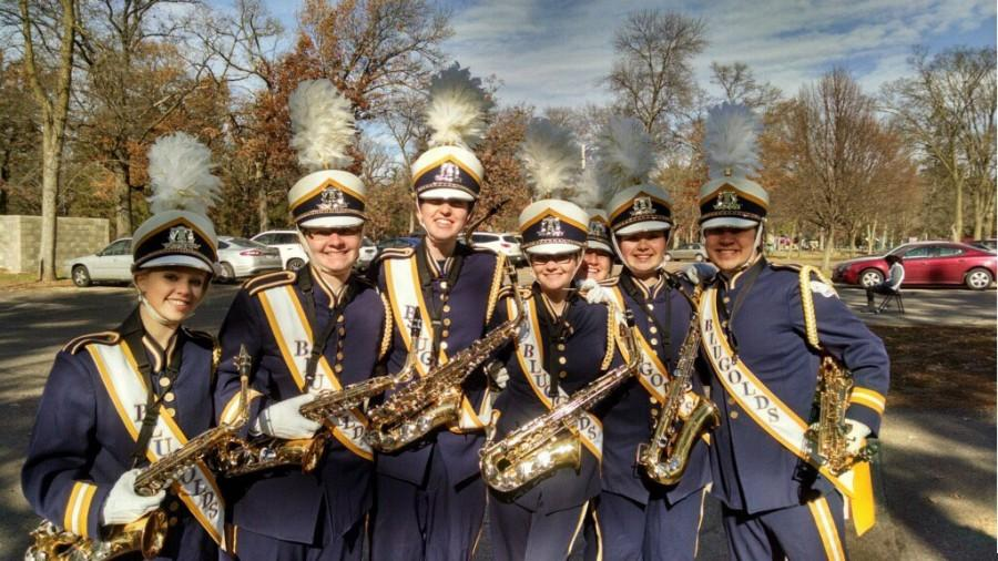 Marching band is much more athletic than what meets the eye