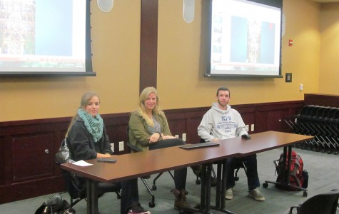 Katherine Kocen, Emily Koehn and Alex Davis share their experiences in Asia as part of International Education Week.