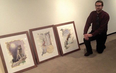 Senior art students plan to showcase various mediums at the Foster Gallery